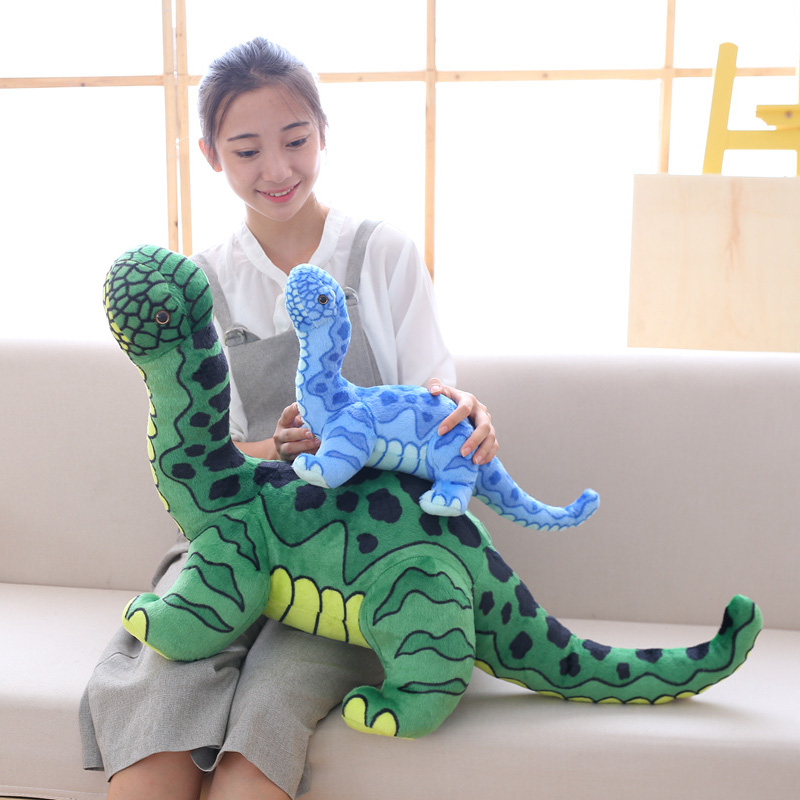 Soft Animal Dinosaur plush toys soft Brachiosaurus Tyrannosaurus Rex Plush dolls & stuffed toys for childrens classic Toys Gifts