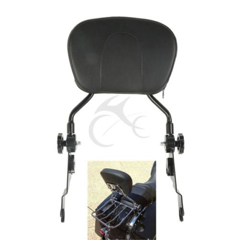 Frames & Fittings Nice New Adjustable Detachable Backrest Sissy Bar For Harley Touring Cvo Street Glide In Many Styles