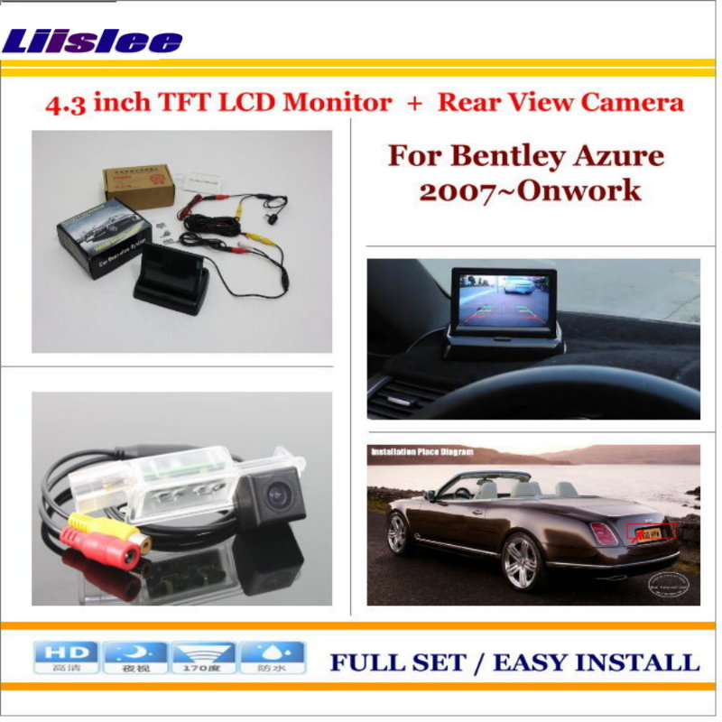 Liislee For Bentley Azure 2007~Onwork Auto Rear View