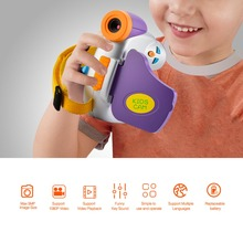 Mini Cartoon Kids Digital Camera High-definition 5.0MP 1.44 inch COMS 4X Zoom Children Toy Camera 1080P Video Camcorder for Kids(China)