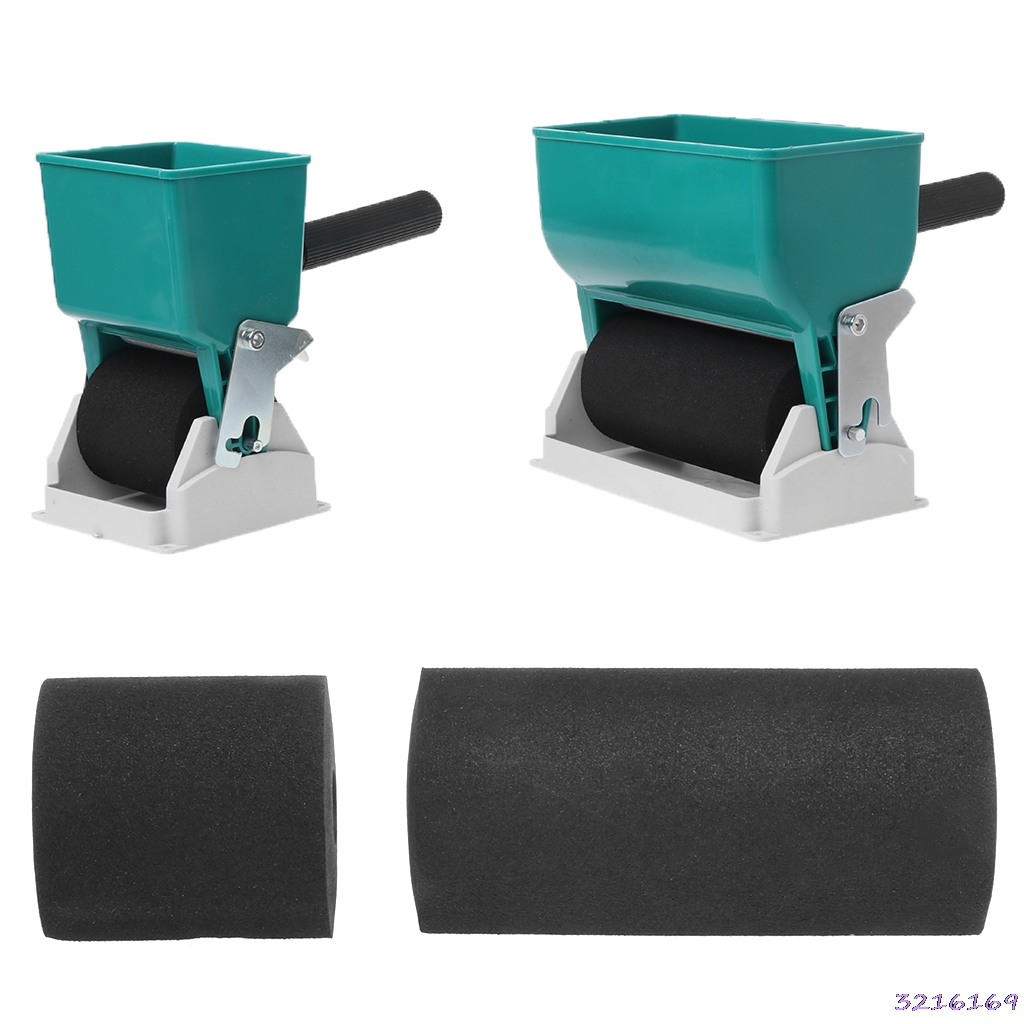 80/320mL Portable Handheld Glue Applicator Roller Manual Gluer For Woodworking