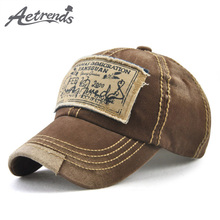 [AETRENDS] Denim baseball hat cap summer youth gravity falls embroidered snapback hip hop caps men women Z-6031