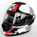 Shoei casco de la motocicleta casco de la Cara Llena del casco de doble lente Genuino casco de seguridad Abs + material de la Pc envío gratis