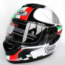Shoei helmet motorcycle helmet Full Face helmet dual lens Genuine Abs+Pc material safety helmet free shipping