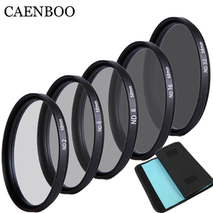 Image 2 - CAENBOO 37mm Lens ND Filter ND2 4 8 16 32 Lens Protector neutrale Dichtheid 40.5mm ND16 ND32 Lens Filter Bag Voor Canon Nikon Camera