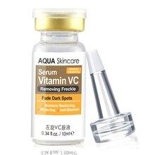 Уход за лицом витамин C Сыворотки Анти Старение Отбеливание 10 мл затухающие пятна крем для удаления веснушек против морщин отбеливающий крем для лица крем vc