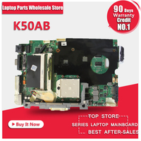 Hot Selling Laptop Motherboard For ASUS K40AB K40AD K40AF K50AB K50AD K50AF Motherboard Free Shipping