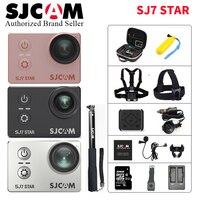 SJCAM SJ7 звезды Wifi действие Камера 4 К 30fps гироскопа Сенсорный экран Ambarella A12S75 видеокамер Спорт SJ 7 лучше Go pro 4 Mini DV CAM