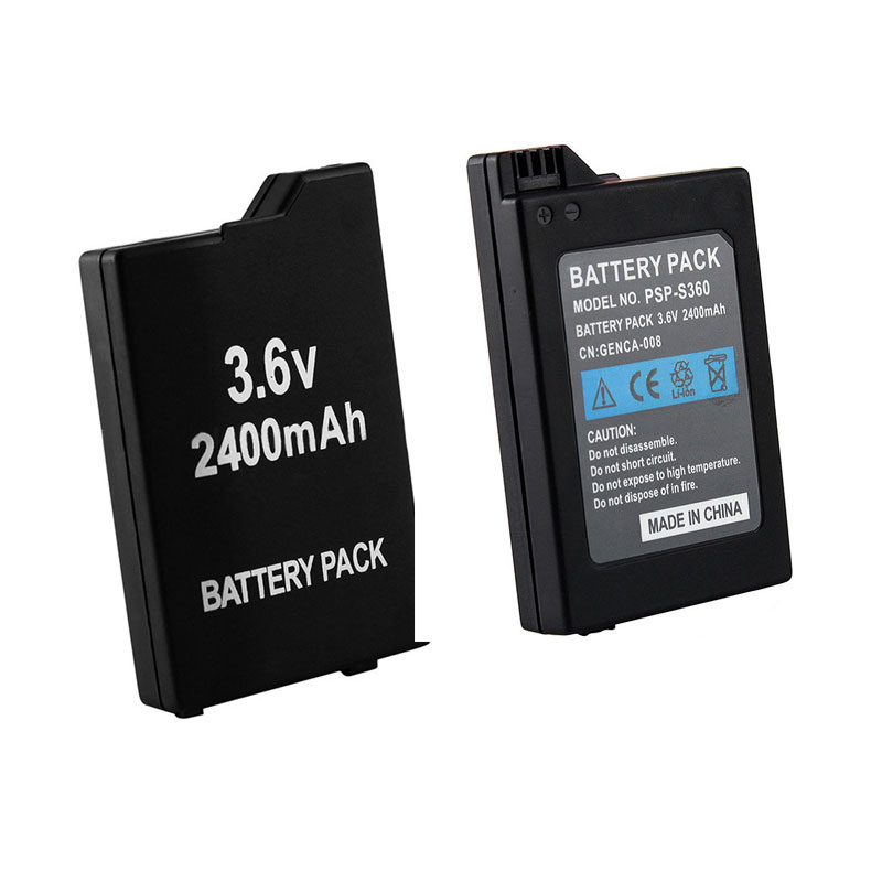 2019 1 Pcs 2400mAh Replacement Rechargeable Battery For Sony PSP2000 PSP3000 PSP 2000 PSP 3000 For PSP-S360 Console