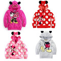 2017 New Kids Girls Hoodies Clothes for Children Infant Hooded Sweatshirts Hoody for Girls Children Clothing Cartoon Outfit A158