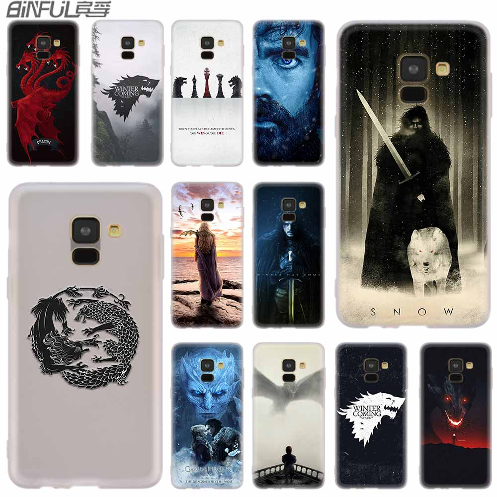 Cover Silicone case For Samsung Galaxy A6 A8 A9 A7 A5 A3 Plus 2018 2017 2016 2015 A6S Star Game of Throne poster image