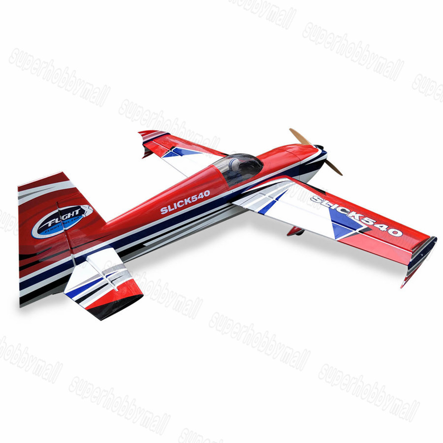 Zyhobby Slick 78 35 50cc 7Channels ARF Balsa Wood Fixed Wing RC Airplane US STOCK