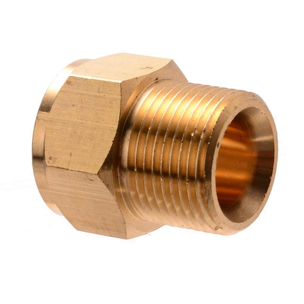 1 pc Duurzaam Messing M22 Mannelijke * M22 Vrouwelijke Slang Koppeling Adapter Connector Schroef Fittings Voor HD HDS Hogedrukreiniger 31*14mm Mayitr