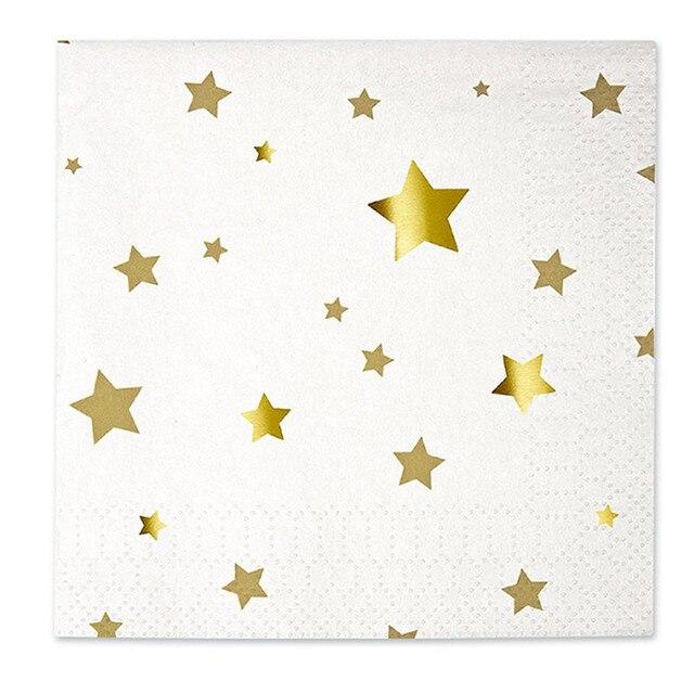 Golden Disposable Paper Tableware Sets Drinking Straws Cups Plates Napkins Serviettes Utensils Wedding Birthday Party Decor