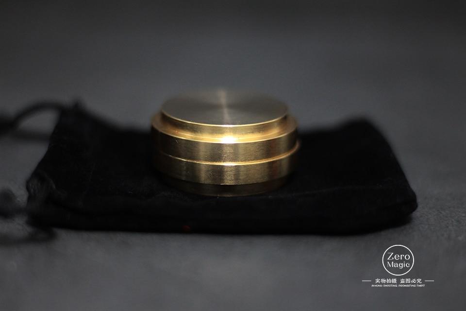 Kartis Okito Box (Half Dollar Version) Coin Magic Tricks Props gimmick Close up Illusions Magician Coin Vanishing/Appearing