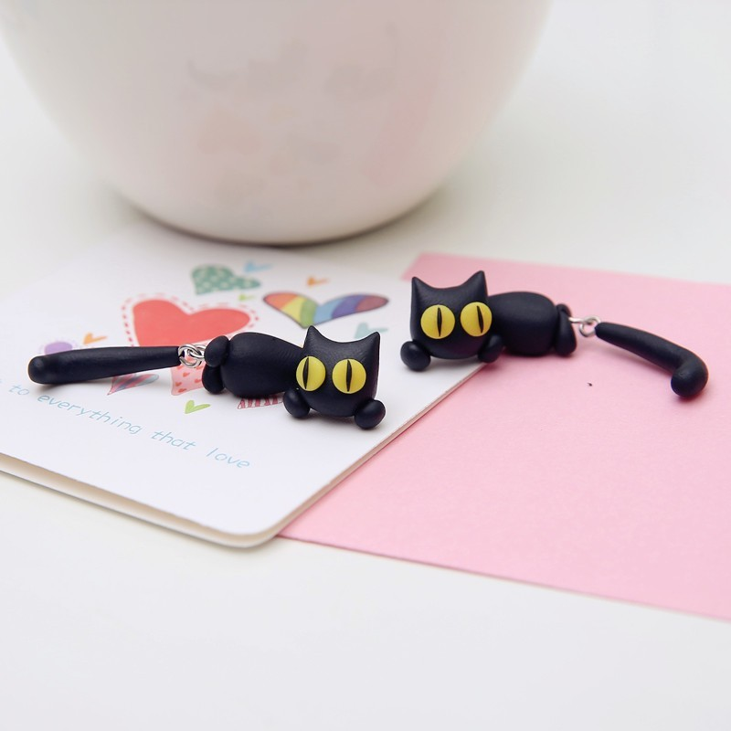 HTB1t9 nIpXXXXczapXXq6xXFXXXi - Black Cat Cute Earring - MillennialShoppe.com | for Millennials