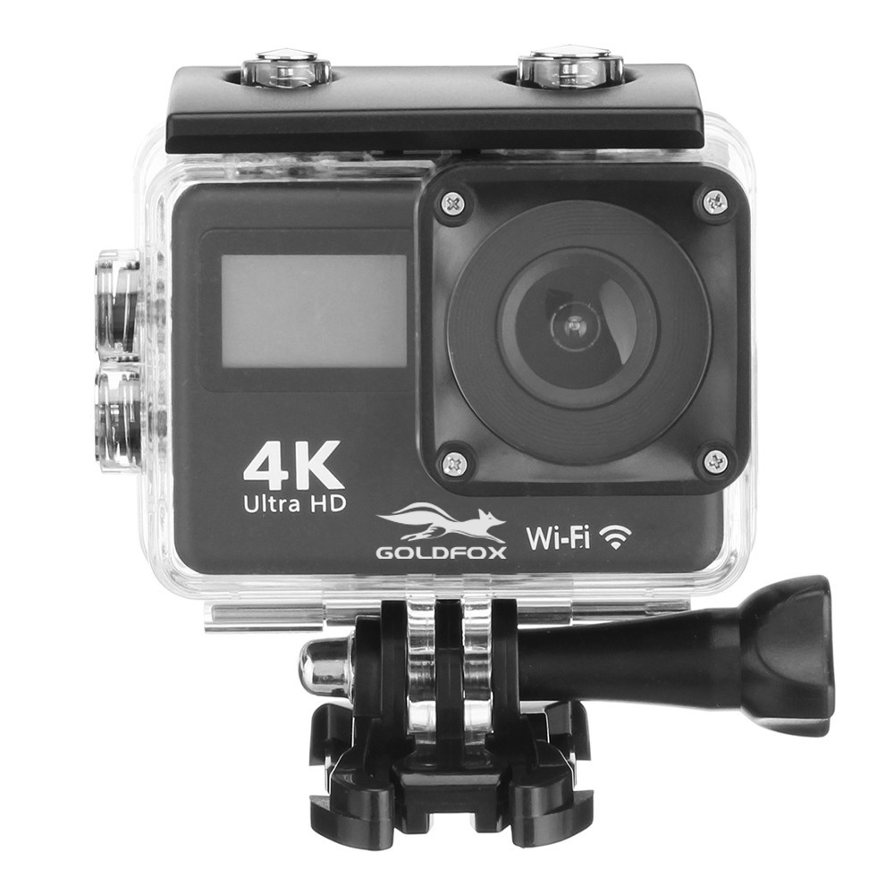 Sport Action Camera 4K WIFI Touch Screen 12MP 30m Waterproof Sport DV 170 Degree Wide Angle Lens HD Sport Action Camera