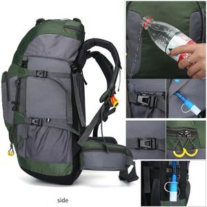 Image 3 - KOKOCAT New 60L Hiking Backpack Sports Outdoor Backpack Mountaineering Bag with Rain Cover Travel Backpack