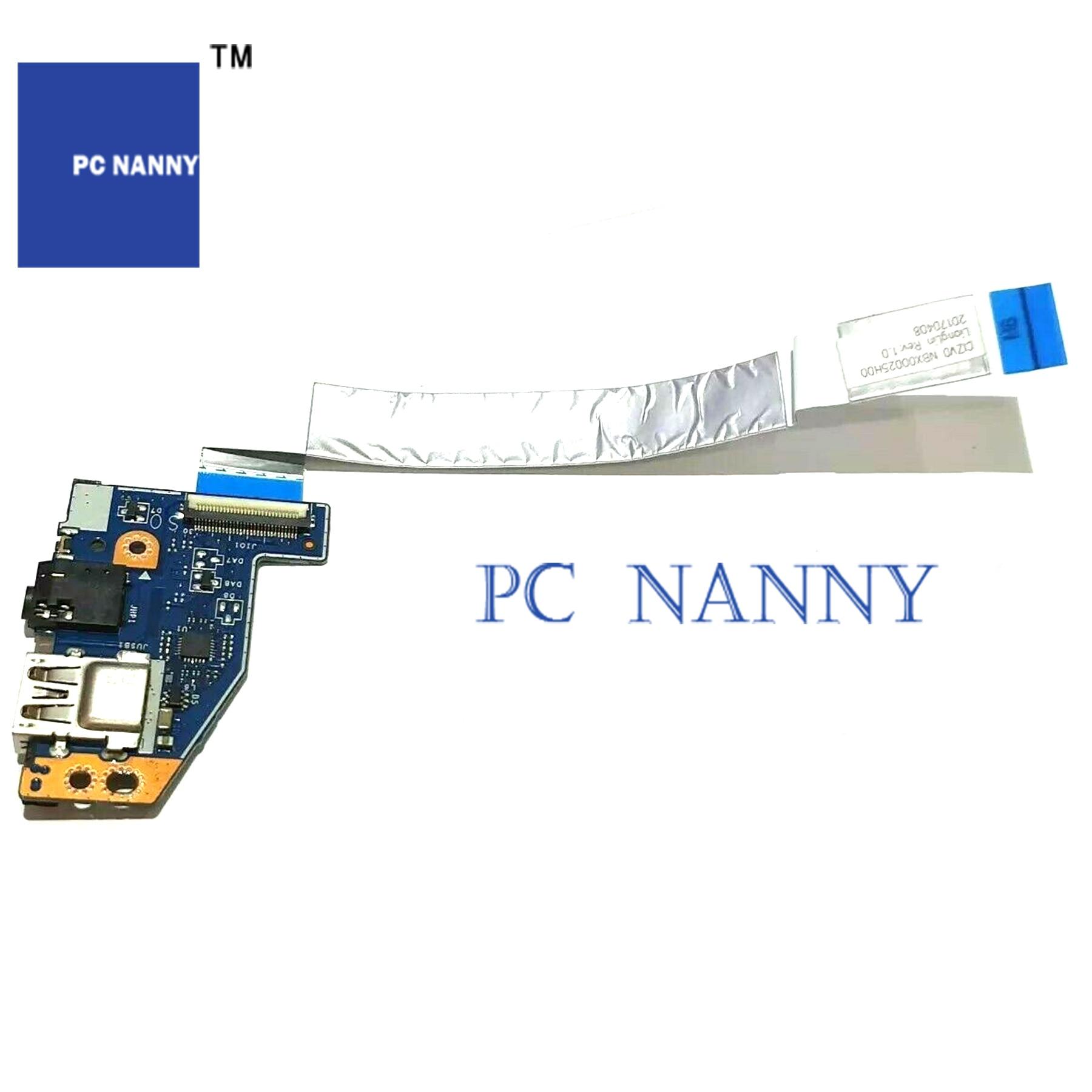 PCNANNY для LENOVO IDEAPAD 720S-14ISK USB порт + аудио + лента LS-E584P тест хороший