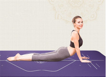 Yoga Poses Print Mat