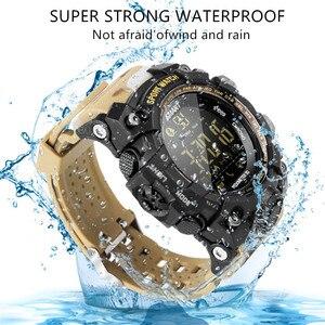 Image 3 - Amynikeer ex16s relógio inteligente novos esportes bluetooth pulseira inteligente ip67 à prova dip67 água pedômetro cronômetro alarme tempo de espera longa banda
