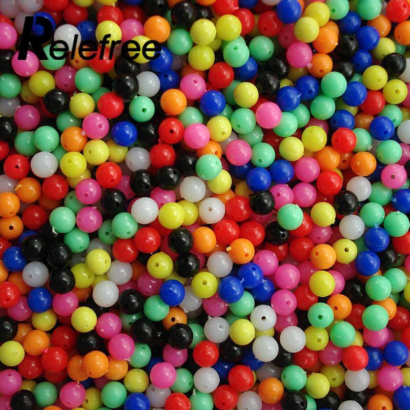 Colour Plastic Floating Float Tackles Fishing Accessories Fishing Plastic Beads Fishing Fishing Beads Practical