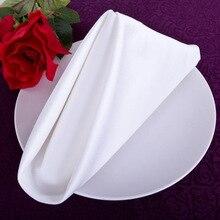 1pc de mesa servilleta Hotel plegable de la servilleta de tela para el hogar servilleta retro café toalla decoración de la Mesa