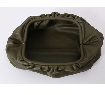 Pillow Bag Leather Cluthes 1