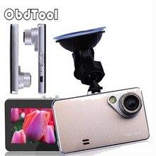 Gold FULL HD 1080P Car DVR H2000 Cam Vehicle Camera Night Vision Car DVR Wide Angle Lens