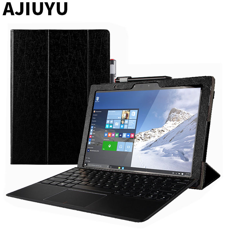 For Lenovo Miix 720 Case Ideapad MIIX720 Protective Smart Cover Leather Tablet Miix 5 Pro 720 PU Protector Sleeve Case 12 inch genuine leather for lenovo miix 510 case ideapad miix 5 protective smart cover tablet miix5 protector miix510 sleeve cowhide