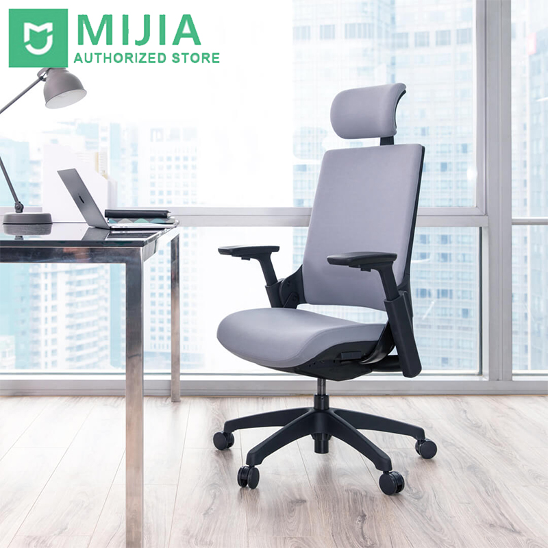 Xiaomi Mijia UE Ergonomic Chair Six Level Adjustable Perfect Fit Back Four Colors In Stock