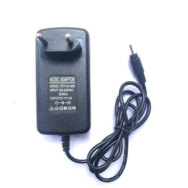 5 v 3A 2.5 mét Sạc Power Supply cho CUBE i10 Pipo M9 Teclast Tbook 12 pro EZpad 4 s pro 5 s EZpad 6 M4 tbook16 pro oBook 11 Cộng Với