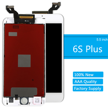 for iPhone 6S Plus LCD Screen Replacement Digitizer Assembly AAA Quality Touch Screen Display for iPhone 6S Plus With Frame yelping 3 in 1 grade a quality for iphone 6s lcd frame touch pad free gift digitizer assembly