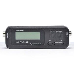 Image 5 - Оригинальный Sathero SH 100HD карманный цифровой спутниковый Finder метр HD LCD DVB S2 USB 2,0 DVB S2 сигнала DVB S SH 100 Satfinder