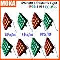 8 teile/los XLR 3Pin Matrix 25 Pcs Leds 30wx25 Licht DMX 8/20 CH RGB 3 IN 1 Nachtclub Bequem Schnelle  Locking System Licht-in Bühnen-Lichteffekt aus Licht & Beleuchtung bei