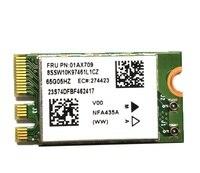 Ssea novo atheros qcnfa435 ac ngff 802.11ac wifi + bluetooth 4.1 para lenovo ideapad 510-15ikb fru 01ax709 01ax718