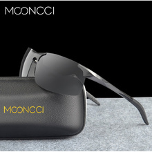 MOONCCI Aluminum Polarized Sunglasses Men Spor