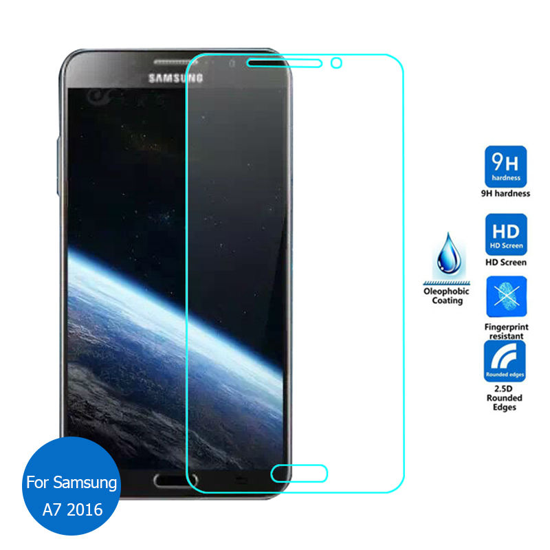 HP01 For Samsung Galaxy A5 A7 2016 Duos Tempered Glass Screen Protector 2 5 0 26MM