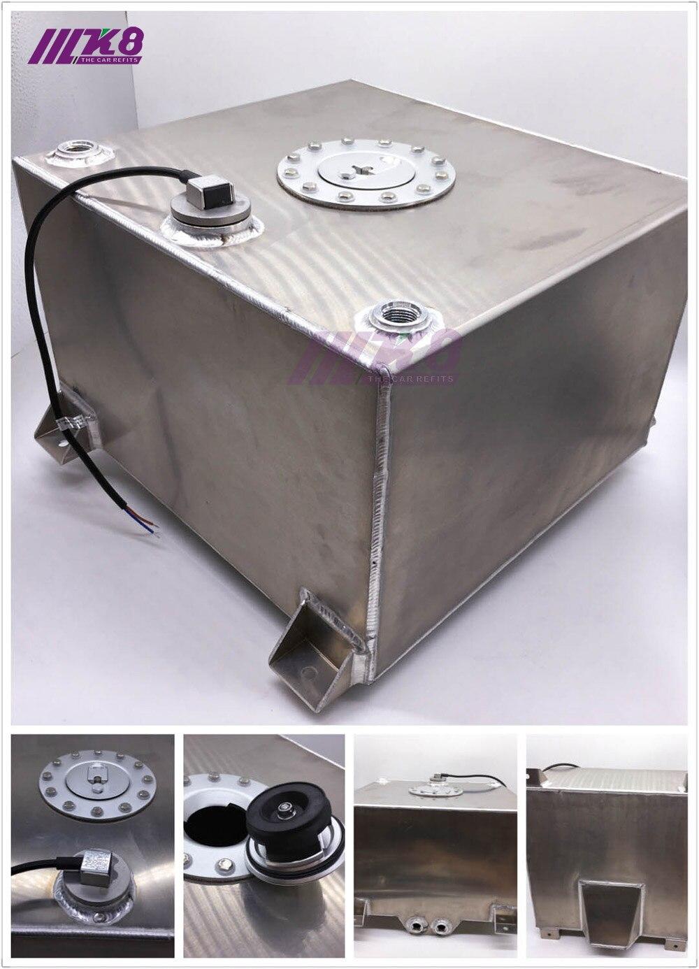 Высокое качество 80L алюминия перенапряжения топливного бака с Кепки топливных 80L с датчиком пеной внутрь (K8 F 80L)