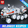 LEPIN 05031 933Pcs Star Wars Clone Turbo Tank 75151 Building Blocks Compatible With 75151 STAR WARS