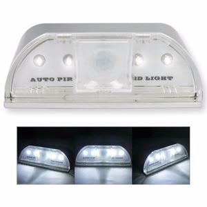 Image 5 - Lamp Nachtlampje Intelligente Auto Pir Deurslot Inductie Lamp Deur Sleutelgat Ir Motion Sensor Warmte Detector 4 Led Smart licht