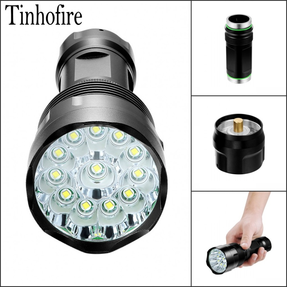 Tinhofire T3/T4/T5/T6/T7/T8/T9/T10/T11/T12 CREE T6 LED 5-Mode 4000-20000 Lumen High Power led Torch Camping Flashlight Lamp t