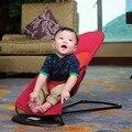 Poussette pliante Cama Plegable portátil Silla de oscilación del bebé Cunas de bebé Infantil Del Bebé de Equilibrio 3 Posición Ajustable cama carpa plegable