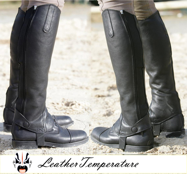 Aliexpress.com : Buy 2013 Best quality Leather Half Chaps Genuine ...