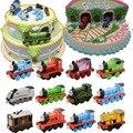 Thomas Amigos Tren de Madera Del Coche Coche De Juguete Del Motor Completo Tren Juguetes Del Bebé Torta de Cumpleaños Fondant Herramientas de decoración de Pasteles