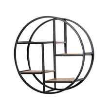 Черный железный металлический настенный стеллаж, шикарный плавающий стеллаж для хранения, демонстрационный стенд, художественный дисплей