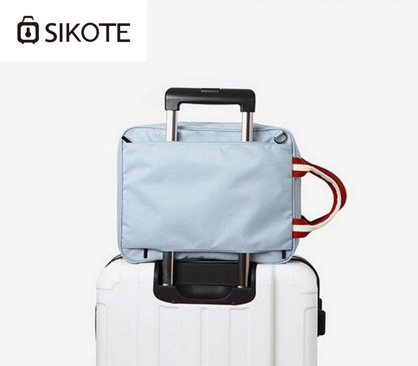 Багатофункціональний поліестер водонепроникний дорожня сумка, портативний, плече великої ємності чоловіків і жінок мішок, посадковий подорожі валіза