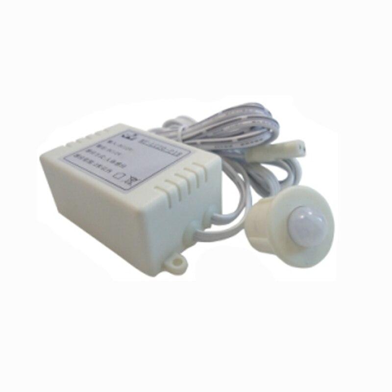 10PCS/LOT Body Infrared Module Energy Saving  Sensor Switch PIR Motion Sensor spilt Switch Auto ON/OFF FOR LED Lights mayitr ir infrared motion switch sensor automatic on off lights lamps switch saving energy 12v