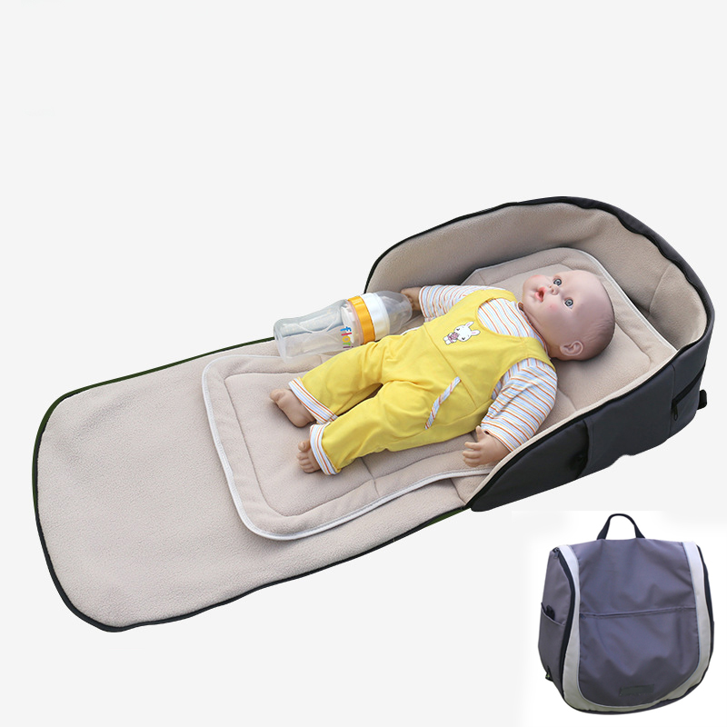 все цены на Portable Baby Bed Travel 90*40cm Foldable Indoor Outdoor Baby Cots Sleeping Baby Travel Bed Portable Crib Newborn Changing Table