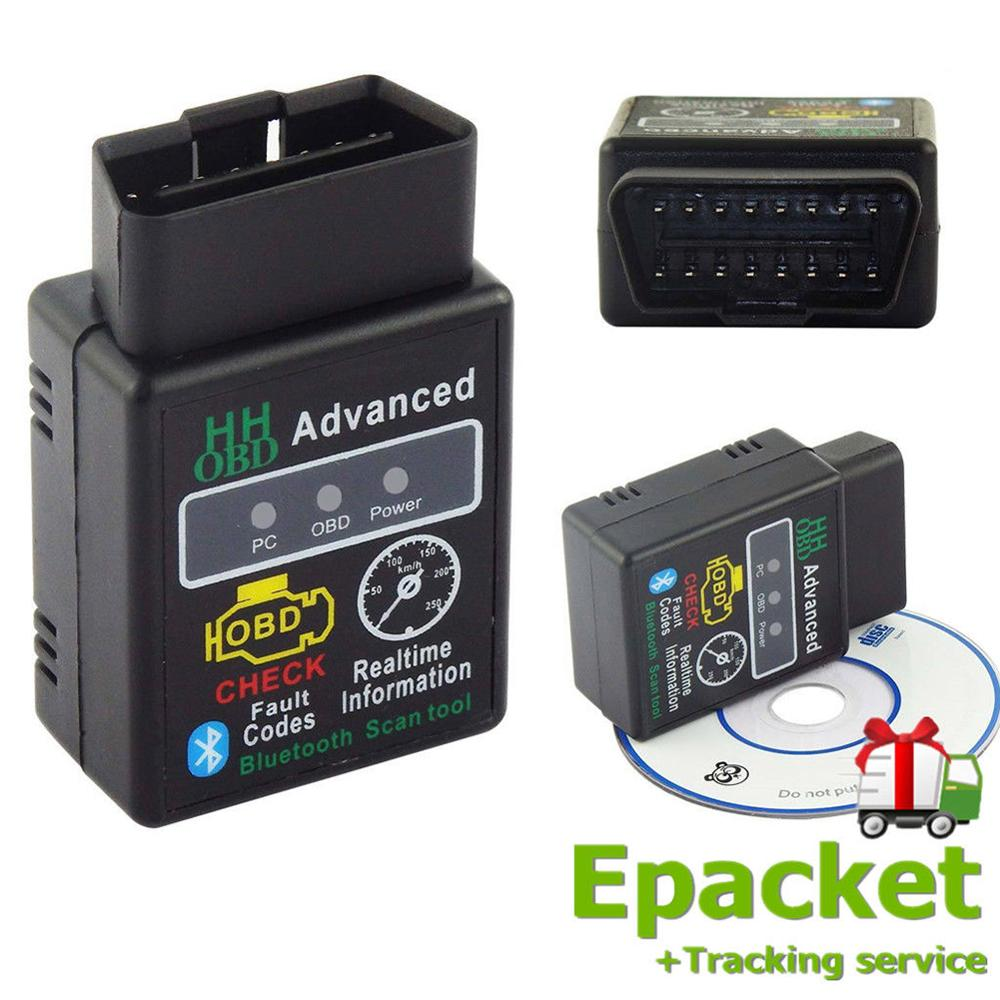 Mini OBDⅡ Car Code Reader Car Diagnostic Interface Scanner Scan Tool Bluetooth